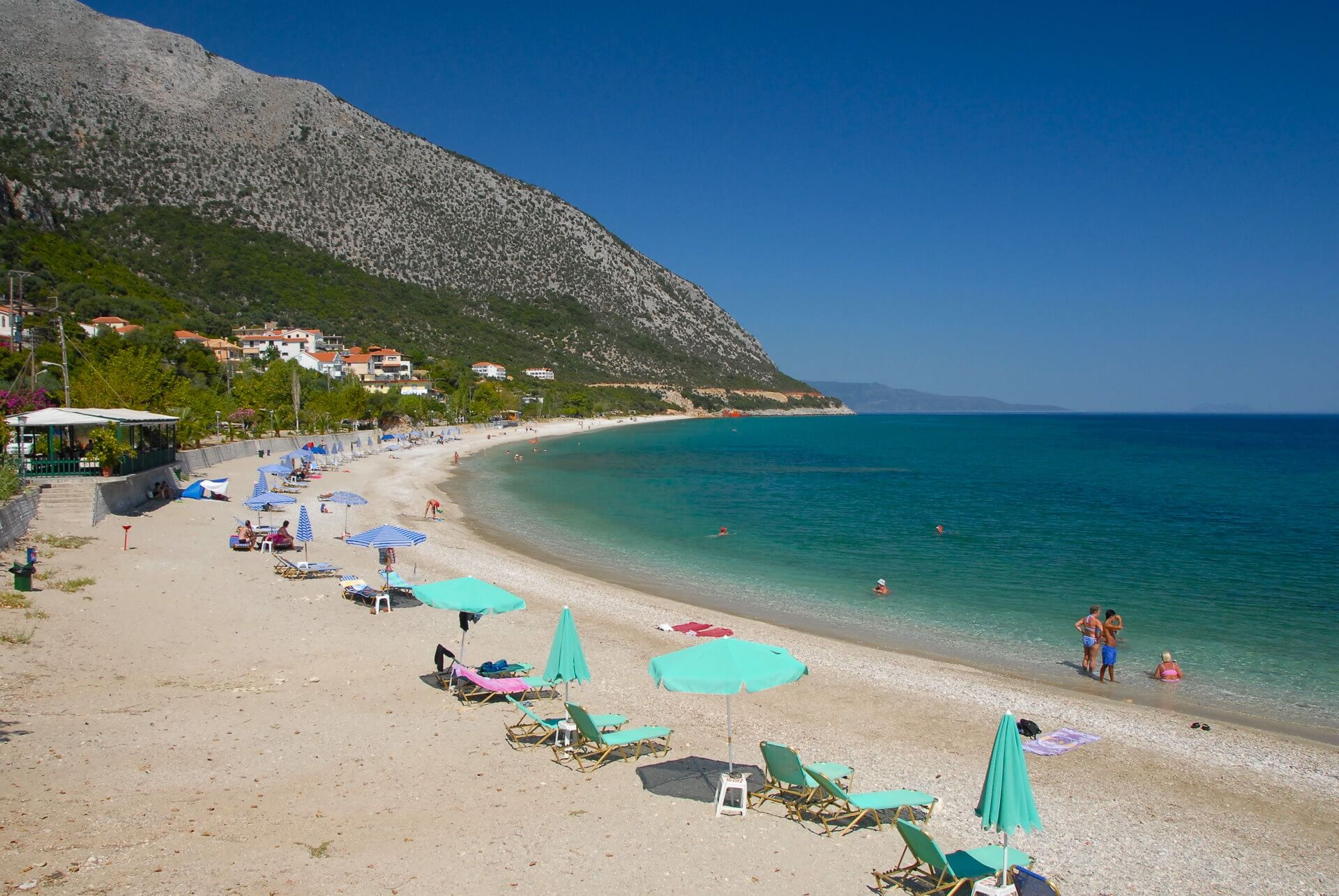 Ragia-Poros beach at Poros Kefalonia